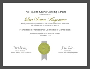 certificate (1) copy